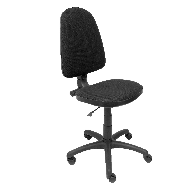 Silla oficina negro ref: 128 PC - Papeleria Segarra