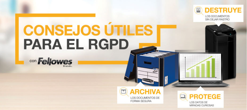 RGPD destructoras Fellowes