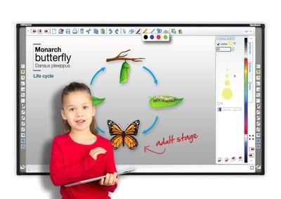 audiovisuales mobiliadio de oficina ofertas material de oficina papelería segarra barcelona pantalla proyector monitor interactivo